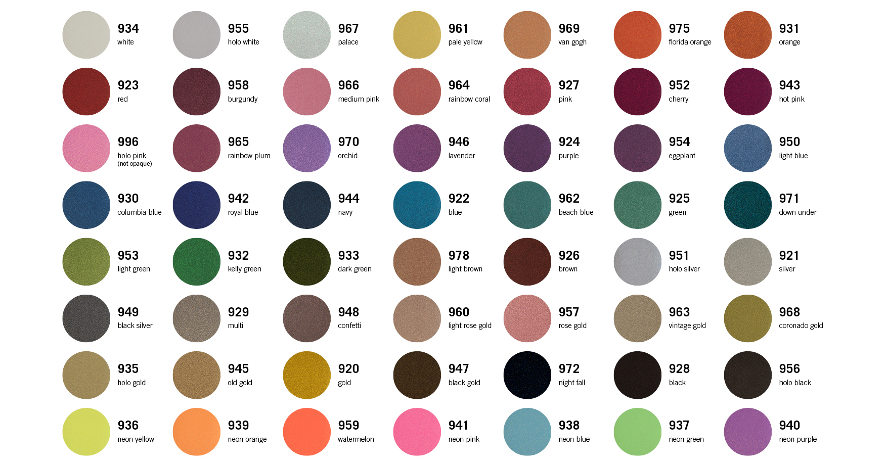 CAD-CUT_Color-selection_Glitter_Stahls-Europe_07-21